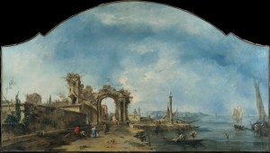 """Fantastic Landscape"" – used with permission from The Metropolitan Museum of Art Artwork by Francesco Guardi"